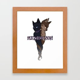 Phenomenon COLOR Framed Art Print