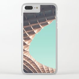 Waffle or not? Clear iPhone Case