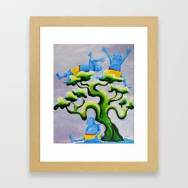 The Monsters Three Framed Art Print