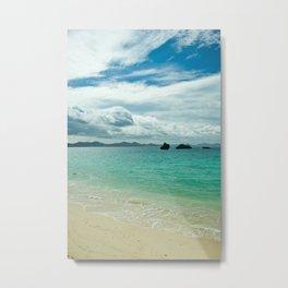 Motobu Seaside Metal Print