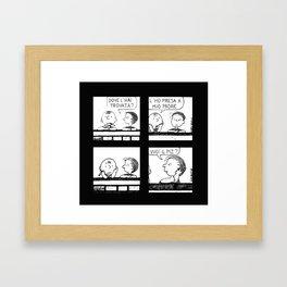 Charlie, dear Charlie Framed Art Print