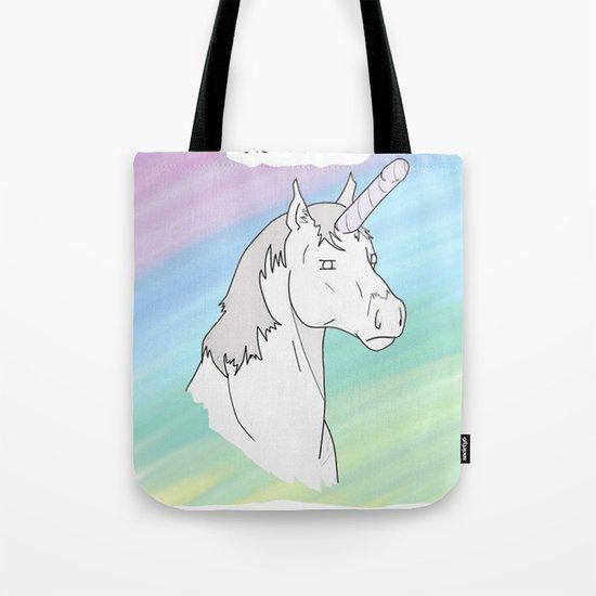 Unicorn, Penis horn Tote Bag