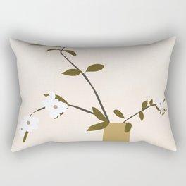 Flowers in the Vase Rectangular Pillow