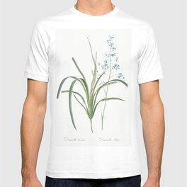 Blueberry lily  from Les liliacees (1805) by Pierre-Joseph Redoute T-shirt