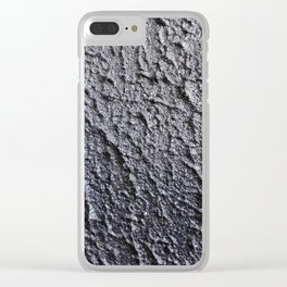 Paint texture Clear iPhone Case