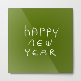 happy new year 16 Metal Print