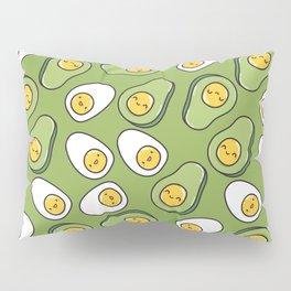 Egg and avocado Pillow Sham