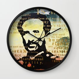 Haile Selassie War Wall Clock