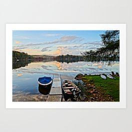 Another Day on the Lake Art Print