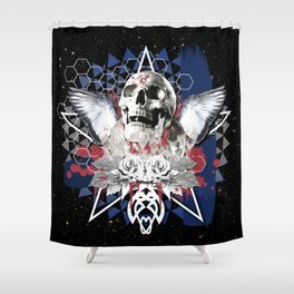 DEPARTED Shower Curtain