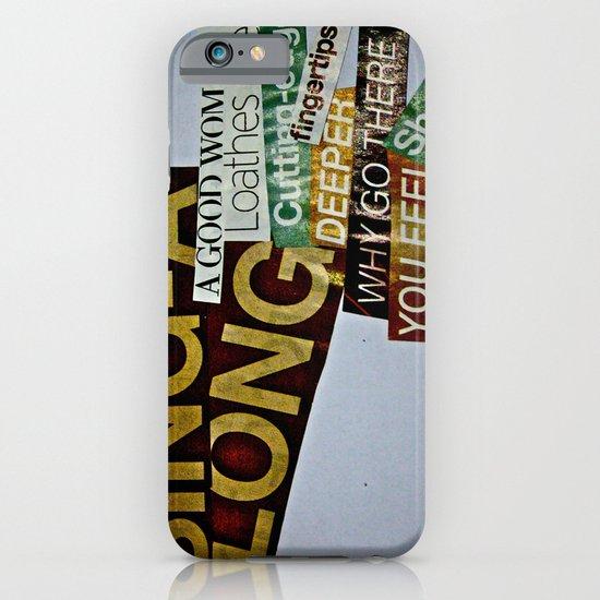 Singalong iPhone & iPod Case