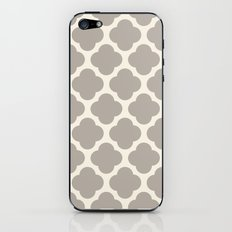 gray clover iPhone & iPod Skin