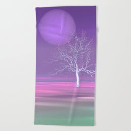 where are the peaceful times -2- Beach Towel