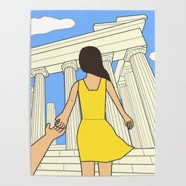 Follow me to Greece Poster