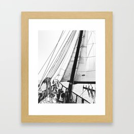 Out to Sea Framed Art Print