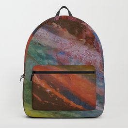 Vetas de colores // Colored streaks Backpack