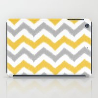 ikat iPad Cases featuring Chevron IKAT by Patty Sloniger