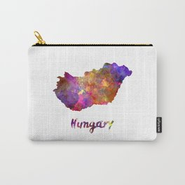 Hungary in watercolor Carry-All Pouch