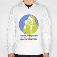 jessica lange Hoodies featuring Jessica Lange by BeeJL