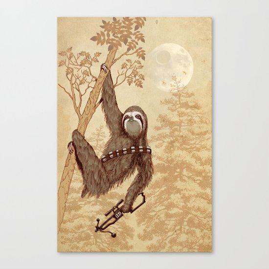 SlothWars Canvas Print