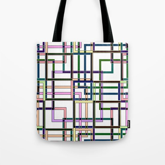 Abstract geometric pattern. Tote Bag