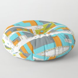 Ground #07 Floor Pillow