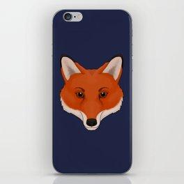 Red Fox iPhone Skin