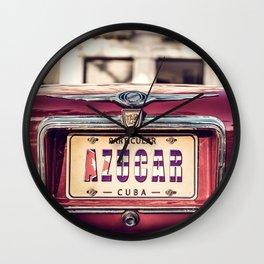 AZUCAR - CUBA LIBRE 2019 - Angel Torres Wall Clock