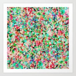 Informel Art Abstract G214 Art Print