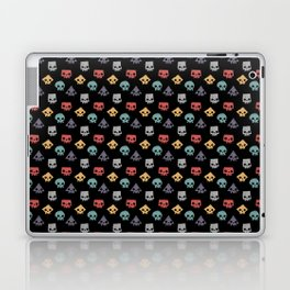 Skull Shapes Laptop & iPad Skin