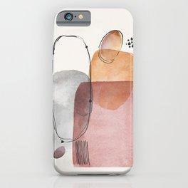 Modern Abstract Art IX iPhone Case