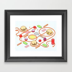 Tasty Visuals - Squeeze Me II Framed Art Print