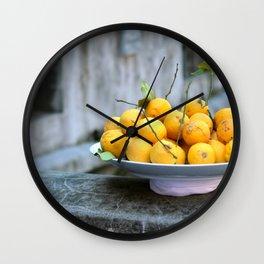 al Limone Wall Clock