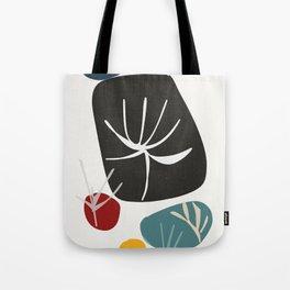 leaf imprints zen garden Tote Bag