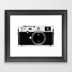 leica camera Framed Art Print