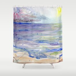 Florida Storm Shower Curtain