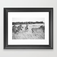 independent::kenya  Framed Art Print