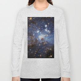 LH 95 stellar nursery in the Large Magellanic Cloud (NASA/ESA Hubble Space Telescope) Long Sleeve T-shirt