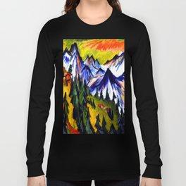 Ernst Ludwig Kirchner Mountain Top Long Sleeve T-shirt