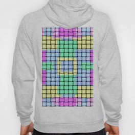 Beautiful Pastel Weave Texture Hoody