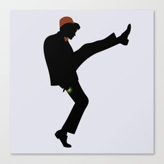 The 11th Doctor of Silly Walks Canvas Print