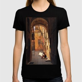 ARCHWAY and Sardinian fish traps T-shirt