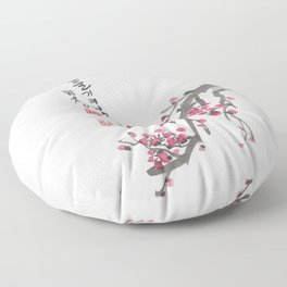 One Branch's Spring Floor Pillow