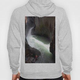 Roaring Box Canyon Falls, in a 200-foot Crevasse Hoody