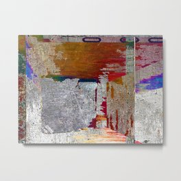 Name This Piece Metal Print