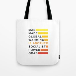 Socialist Power Grab Tote Bag