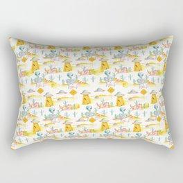 area 51 pattern Rectangular Pillow