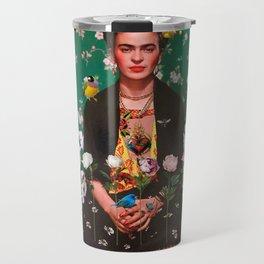 Wings To Fly Frida Travel Mug