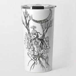 Buddha Under Bodhi Tree Travel Mug