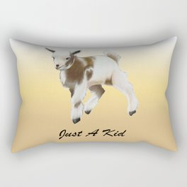 Goat Kid  Rectangular Pillow